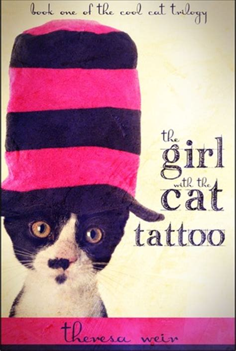girl   cat tattoo cool cats   theresa weir