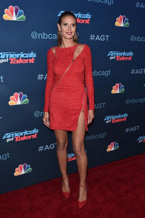 Heidi Klum Jitrois The America Got Talent Season