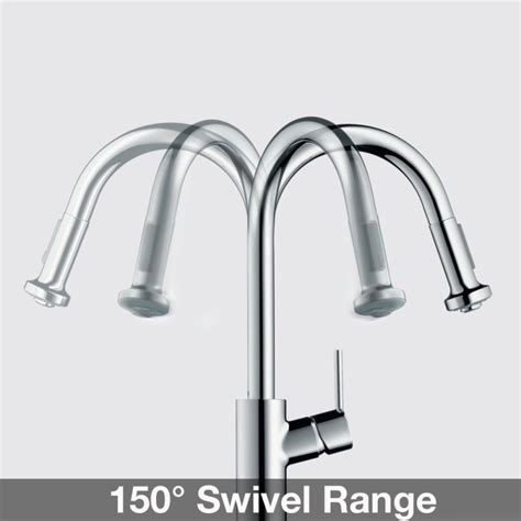 faucet 14872801 in steel optik by hansgrohe