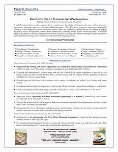 executive chef resume With executive chef resume template