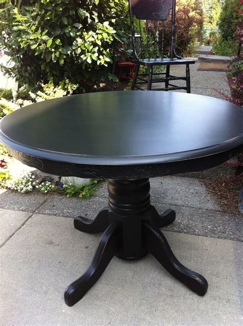 antique oak table   matching pressback chairs