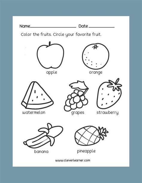 preschool science activity worksheet images