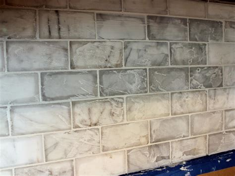 backsplash for kitchen walls grouting kitchen backsplash wall railing stairs and