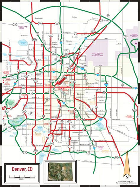 map  denver colorado travelsmapscom