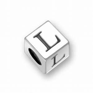 pandora alphabet block letter l charm With pandora block letters