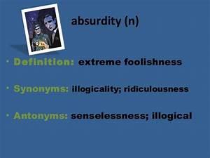 Absurdity definition. Absurdity in Literature: Definition ...