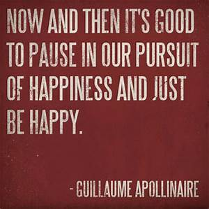 Now and then it... Guillaume Apollinaire Quotes