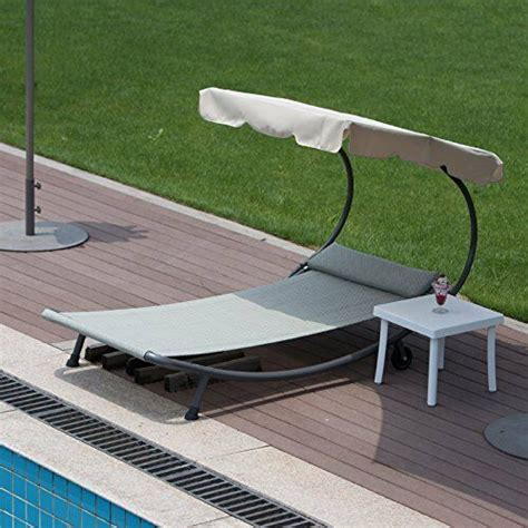 Pool Hammock Lounger by Outdoor Single Hammock Bed Swimming Pool Chaise Lounger
