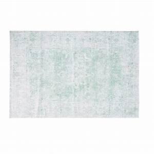 Grüner Teppich Ikea : gr ner gewebter teppich 140x200 maisons du monde ~ Eleganceandgraceweddings.com Haus und Dekorationen