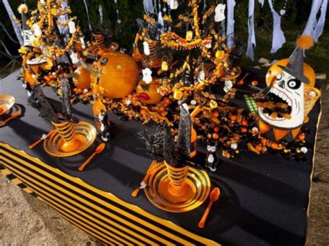 table decorating ideas  halloween pretty designs