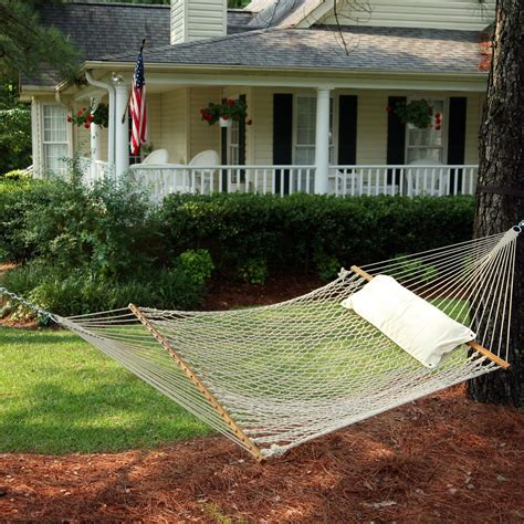 Cotton Rope Hammock by Hammocks Deluxe Original Cotton Rope Hammock On Sale