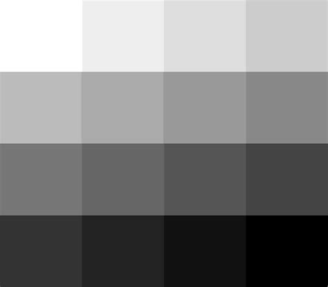shades of black color what is the difference between granite grey and black