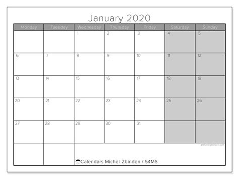 calendar january  ms michel zbinden en