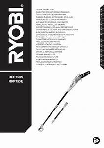 Guide Tronconneuse Ryobi : mode d 39 emploi ryobi rpp755e tron onneuse trouver une ~ Edinachiropracticcenter.com Idées de Décoration
