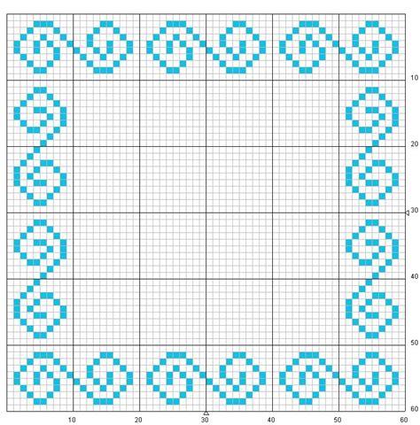 cornici punto croce schema punto croce cornice 4