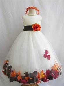 Fall flower girl dress wedding ideas pinterest for Fall wedding flower girl dresses