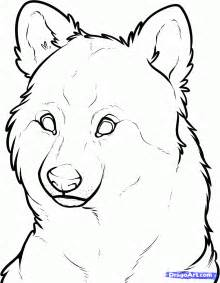 How to Draw Wolf Face Drawing
