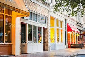 Colorful Shops And Restaurants In Downtown Austin Texas Usa Stock Photo - Download Image Now ...