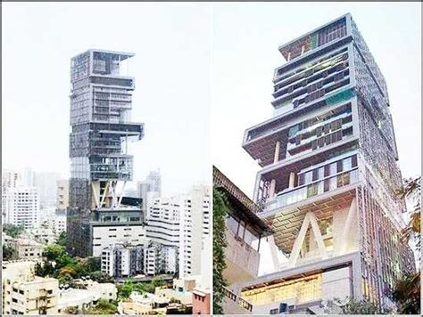 Ambani's Mumbai House Antillia  Billion Dollar House