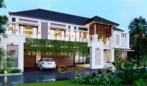 desain rumah terbaik bergaya villa bali tropis  medan