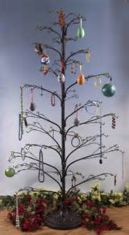 ornament trees wire twig 62 quot ornament trees christmas ornament stands and hooks multiple