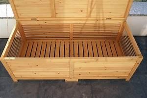 Sitzbank Mit Stauraum Selber Bauen : holz gartentruhe holztruhe auflagenbox kissenbox gartenbox ~ Michelbontemps.com Haus und Dekorationen
