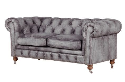 grey leather sofa folat