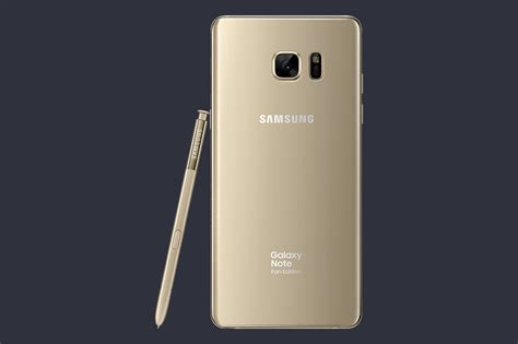 galaxy note 7 fan edition galaxy note 7 quot fan edition quot is official with smaller