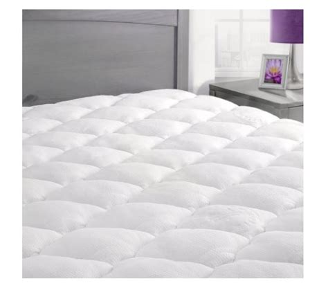 bamboo mattress pad bamboo mattress pad with fitted skirt deal flash deal finder
