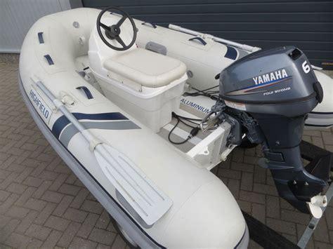Rubberboot Jockeyseat by Highfield Aluminium Rib Met Jockeyseat En Yamaha 6pk 2