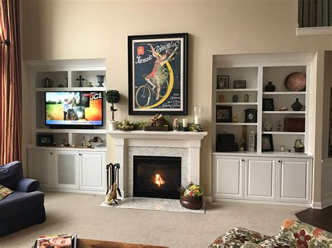 Built In Cupboards Next To Fireplace by Built In Cabinets Fishers Westfield More