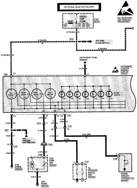 S10 Power Window Wiring Diagram by Carfusebox Chevy S10 Blazer Alternator To C100 Connector