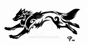 Commission: Tribal Wolf Tattoo by Shinnk on DeviantArt