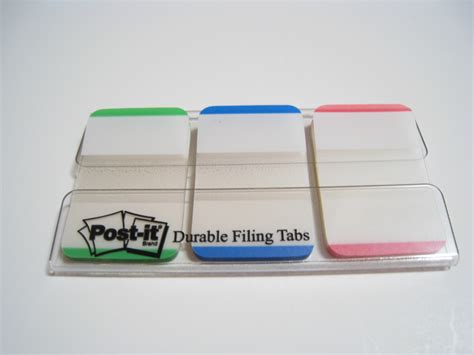 bureau post it post it durable filing tabs review officesupplygeek