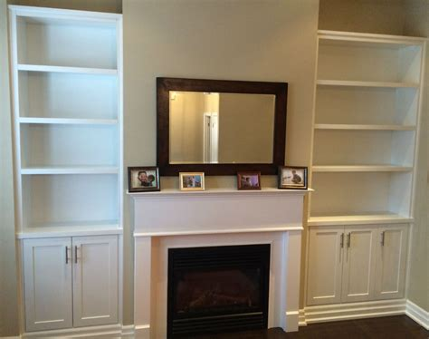 wall unit shelves open shelving fireplace bookshelves