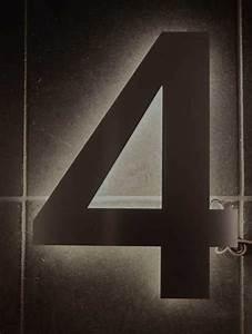 Hausnummer Led Hinterleuchtet : mit led hinterleuchtete led hausnummer aus edelstahl ~ Sanjose-hotels-ca.com Haus und Dekorationen