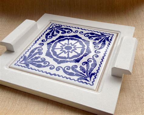 bandeja mdf base azulejo  elo atelier marcela freitas