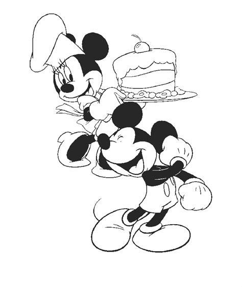 Kleurplaten Minnie En Mickey Mouse by Kleurplaten En Zo 187 Kleurplaat Mickey En Minnie