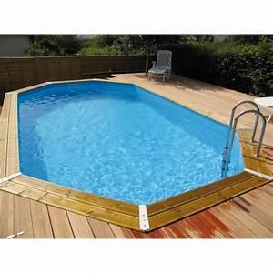 Piscine Bois Ubbink : piscine bois ubbink maldives bleue 335x485x120cm achat ~ Mglfilm.com Idées de Décoration