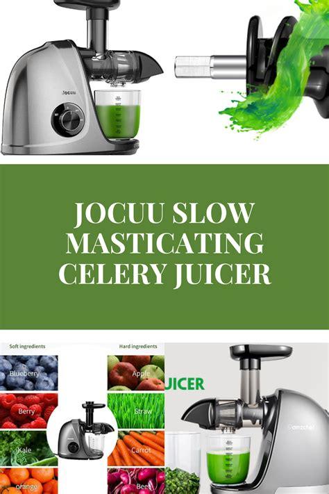 juicer celery masticating juice recipes smoothie juicing