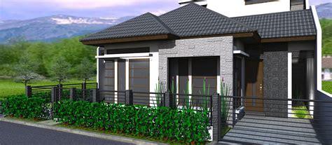 denah rumah minimalis  lantai ukuran  desain rumah