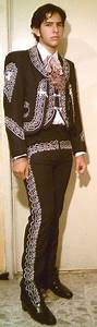 Charro costume mexican outfit black-white mariachi all include | Costumes Mexican outfit and Outfit