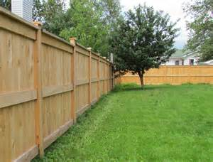 Wood Fence Estimate by Changing The Way Wood Fence Is Installed In The Maritimes