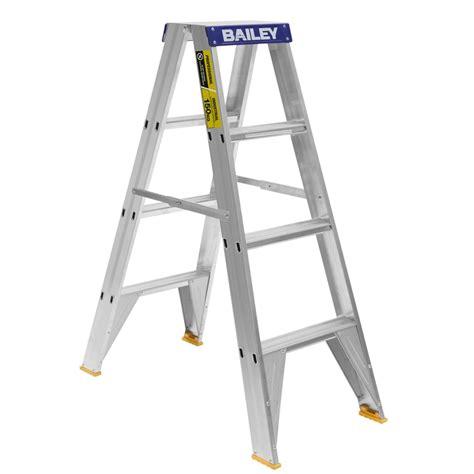 aluminium ladder bunnings bunnings bailey ladders bailey 1 2m 150kg professional