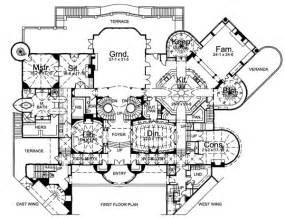 chateau floor plans castle floor plans find house plans