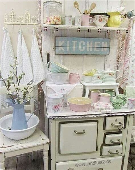 shabby kitchen accessories 32 sweet shabby chic kitchen decor ideas to try shelterness 2166