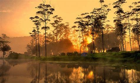 destinasi wisata alam  bandung  pemandangan