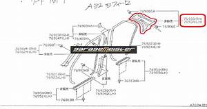 Twy Trading  Nissan Cefiro A32 Oem Genuine Parts Diagrams