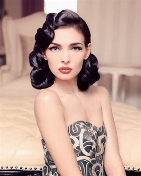 retro styles for hair inspiration hairstyles for a retro wedding the