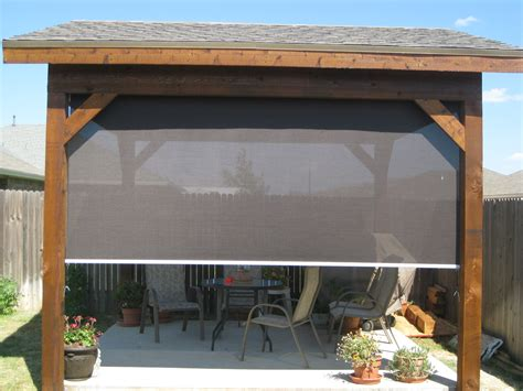 tucson patio roller shades keep cool without blocking